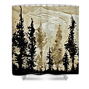 Back Country  Shower Curtain