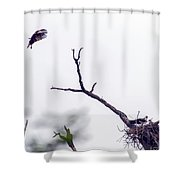 Back Home Shower Curtain