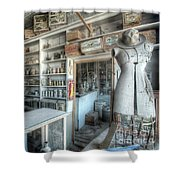 Back In 5 - The General Store, Bodie Ghost Town Shower Curtain