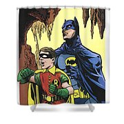 Back In The Batcave Shower Curtain