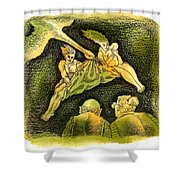 Back To Emptynesters  Shower Curtain