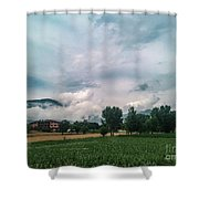 Back To Roma Shower Curtain