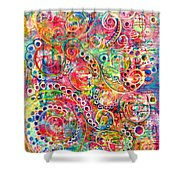 Back To The Beginning Shower Curtain
