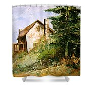 Back To The Farm Shower Curtain