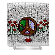 Back To The Green Nature With A Angel Smile Shower Curtain