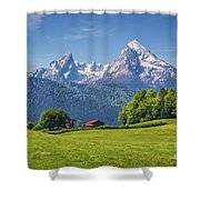 Back To The Roots Shower Curtain