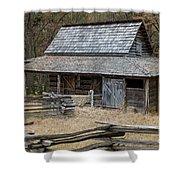 Backcountry Farm  Shower Curtain