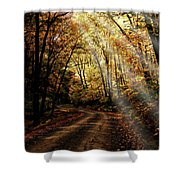 Backcountry Road Shower Curtain