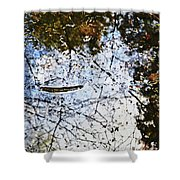 Background Nature Green Shower Curtain