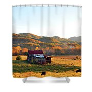 Backroad  Shower Curtain
