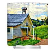 Backroads Shower Curtain