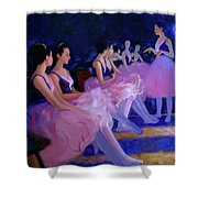 Backstage Shower Curtain by Kevin Lawrence Leveque