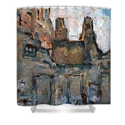 Backstreet Arles Shower Curtain