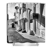 Backstreet Of Muharraq, Bahrain. Shower Curtain