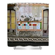 Backstreets Of Palma De Mallorca Shower Curtain