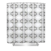 Backstroke Shower Curtain