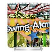 Backyardigans Swing-a-long Shower Curtain