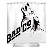 Bad Company Shower Curtain