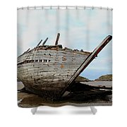 Bad Eddie's Boat Donegal Ireland Shower Curtain
