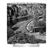 Bad Kreuznach 9 Shower Curtain