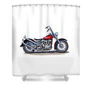 Bad To The Bone  Shower Curtain