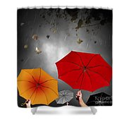 Bad Weather Shower Curtain