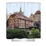 Bad Wimpfen 4 Shower Curtain