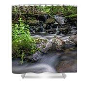 Badger Creek #2 Shower Curtain