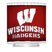 Badgers Shower Curtain