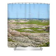Badland Shower Curtain