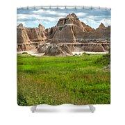 Badlands 11 Shower Curtain