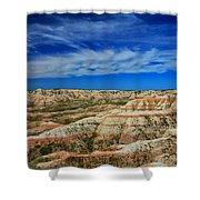 Badlands 12 Shower Curtain