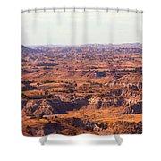 Badlands #3 Shower Curtain