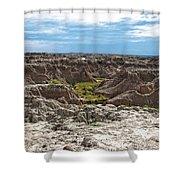 Badlands 8 Shower Curtain