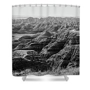 Badlands Of South Dakota #2 Shower Curtain