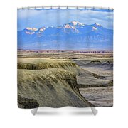Badlands Of Utah Shower Curtain