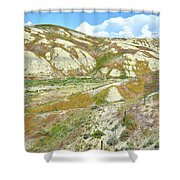 Badlands Of Wyoming Shower Curtain