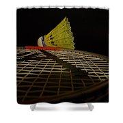 Badminton Shower Curtain