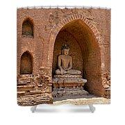 Bagan, Burma Shower Curtain