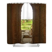 Bagan Pagpodas Shower Curtain