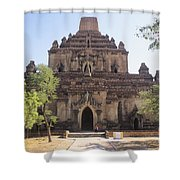 Bagan Sulamani Temple Shower Curtain