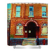 Bagg Street Synagogue Shower Curtain
