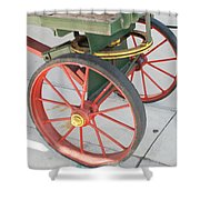 Baggage Cart Shower Curtain