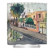 Baghdad Old House Shower Curtain