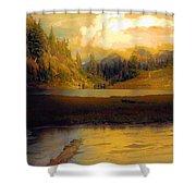 Bagley Lake Shower Curtain