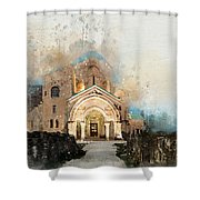 Bagrati Cathedral Shower Curtain