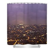 Baguio At Night Shower Curtain