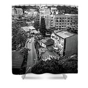 Baguio City On High Shower Curtain