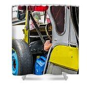 Baguio Jeepneys 5 Shower Curtain