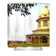 Baha'i Temple Of Uganda Shower Curtain